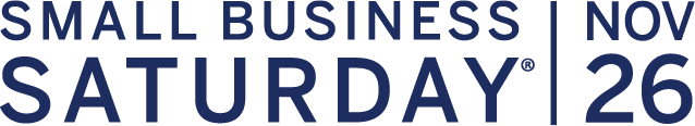 Small Business Saturday is on Nov 26, 2016